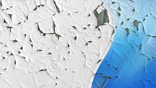 Blue Cracked Grunge Background