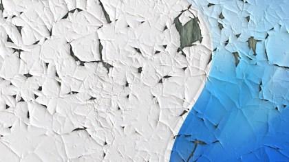 Blue Cracked Grunge Background