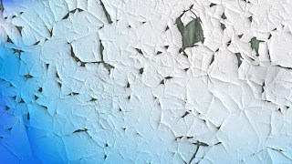 Blue and White Grunge Cracked Background Image
