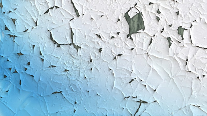 Blue and White Crack Background Texture