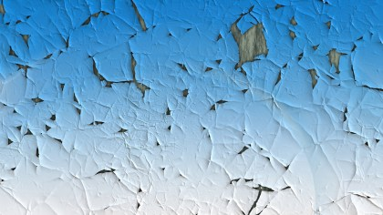 Blue and White Crack Texture Background Image