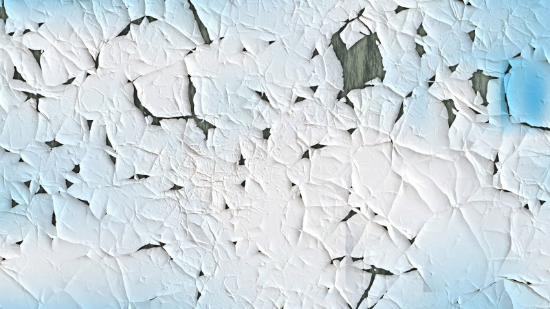 Blue and White Cracked Wall Texture Background