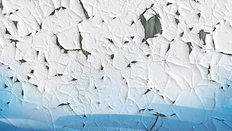 Blue and White Grunge crack background