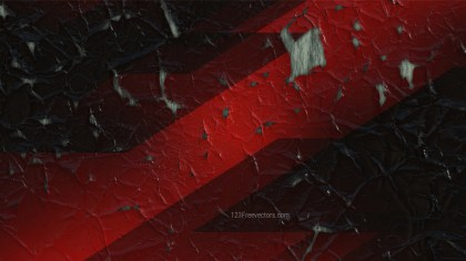 Cool Red Cracked Grunge Texture