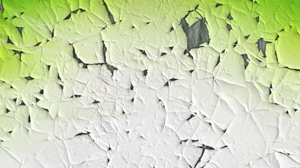 Green and White Grunge Cracked Background Image