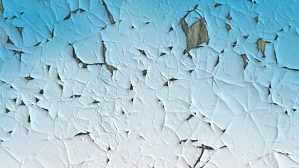 Light Blue Peeling Paint Texture Background