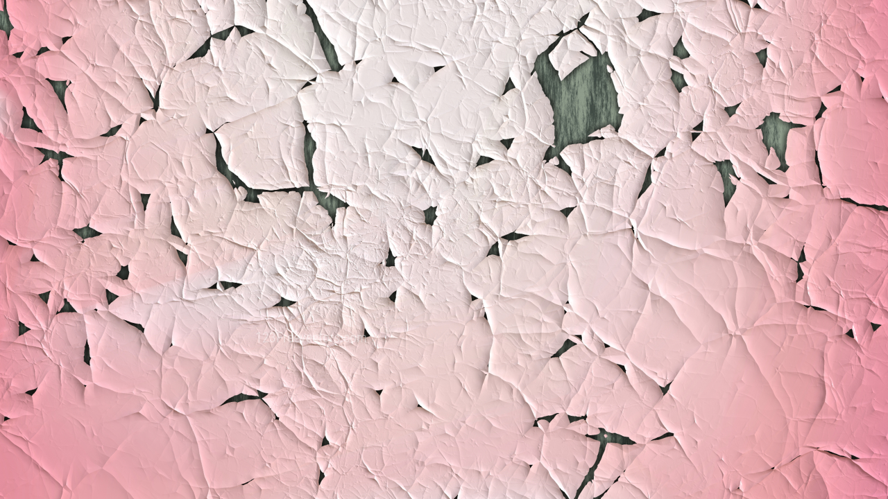 Light Pink Wall Crack Background Image