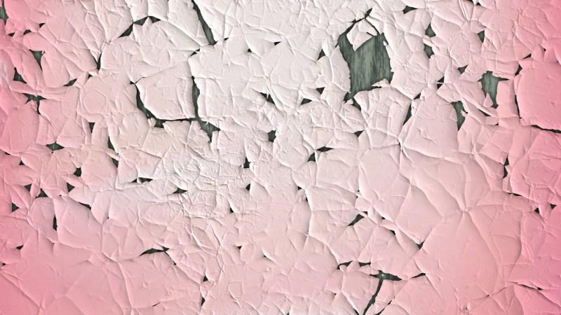 Light Pink Wall Crack Background Image