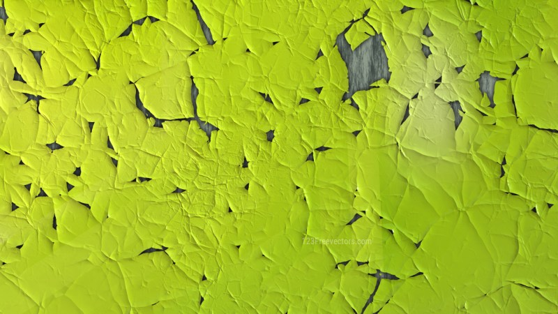 Lime Green Cracked Texture Background Image
