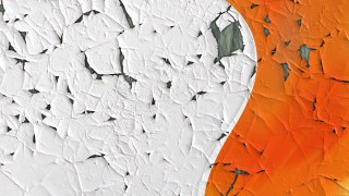 Orange Grunge Cracked Texture