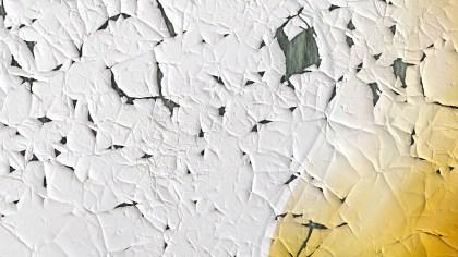Orange and White Wall Crack Background Image