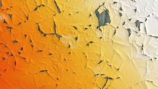 Orange and White Grunge Cracked Wall Background