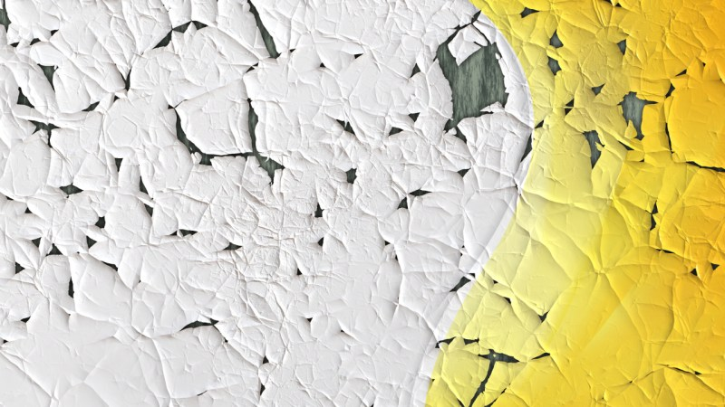 Orange and White Cracked Grunge Wall Texture