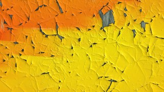 Orange and Yellow Cracked Background