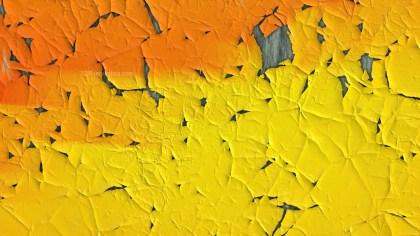 Orange and Yellow Cracked Background