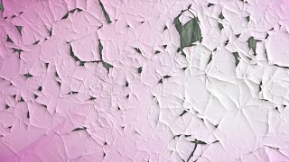 Pink and White Grunge Cracked Wall Texture