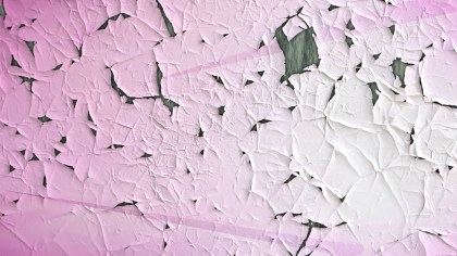 Pink and White Cracked Peeling Paint Texture
