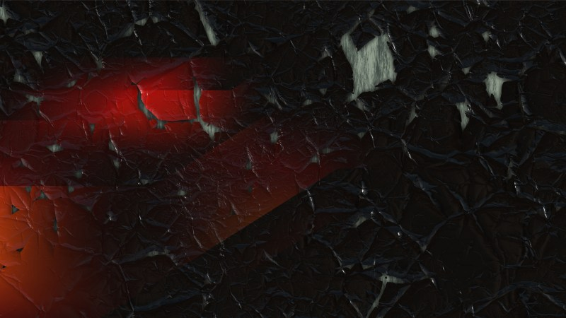 Red and Black Cracked Grunge Background Image