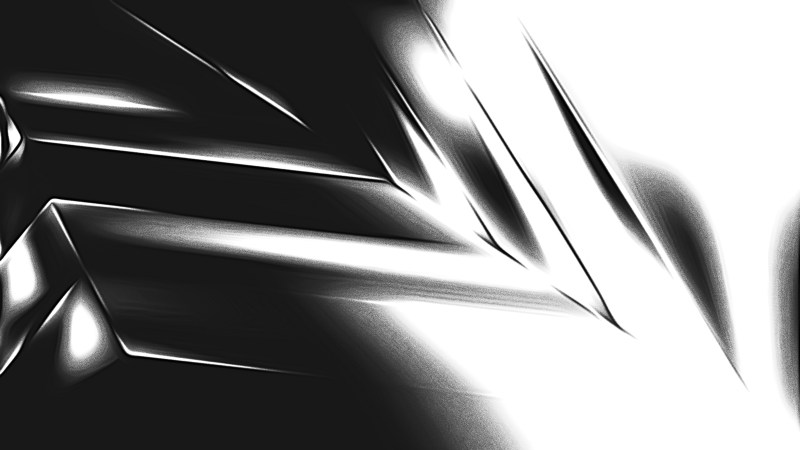Shiny Black and White Metal Background