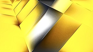 Shiny Black and Yellow Metal Texture