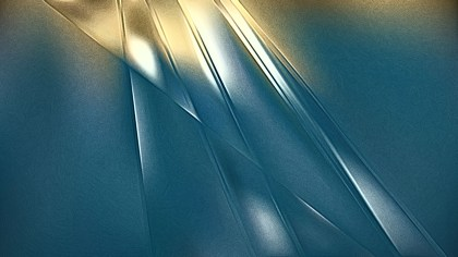 Blue and Gold Metal Texture