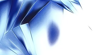 Abstract Shiny Blue and White Metal Background