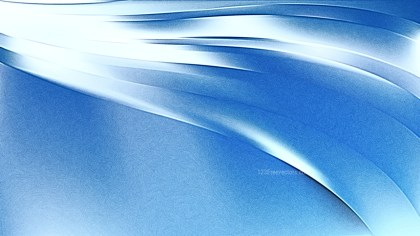 Blue and White Shiny Metallic Background