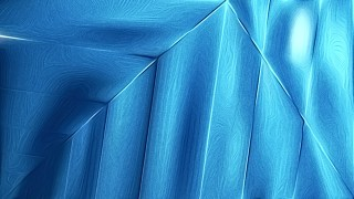Abstract Shiny Bright Blue Metallic Background