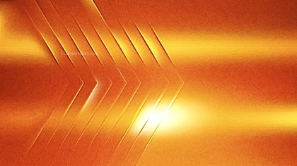 Shiny Bright Orange Metallic Texture