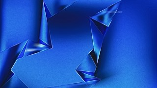 Cobalt Blue Metal Background