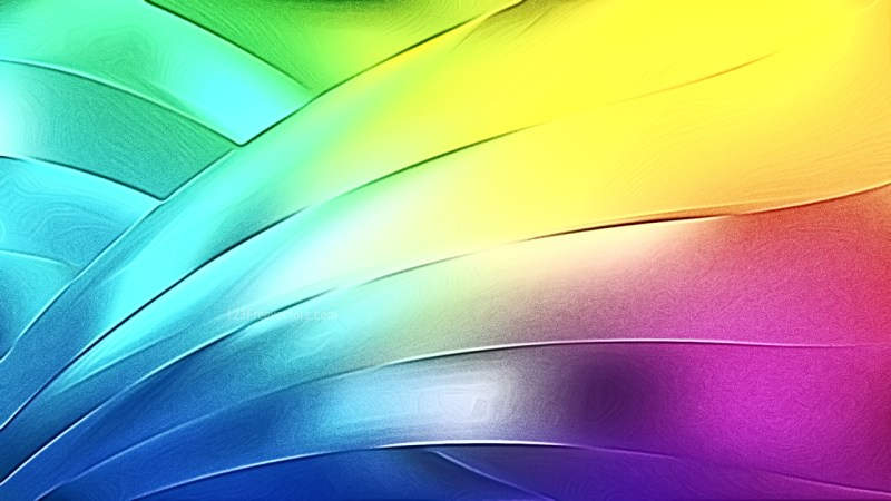 Shiny Colorful Metal Texture