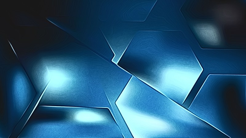 Cool Blue Metal Background