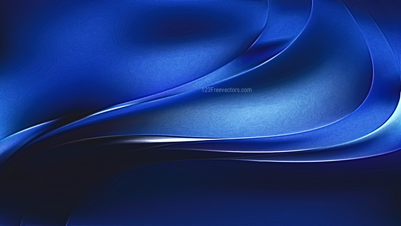 Cool Blue Metallic Background Image