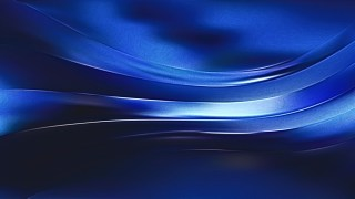 Cool Blue Shiny Metal Texture Background