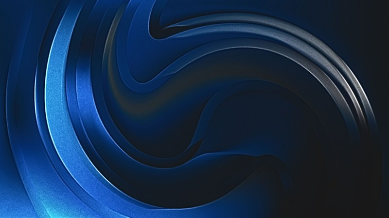 Shiny Cool Blue Metal Texture