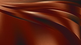 Shiny Cool Brown Metal Background