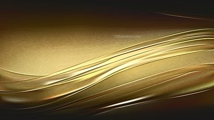 Cool Gold Metallic Background Texture