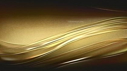 Cool Gold Metallic Background Texture