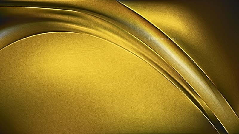 Shiny Cool Gold Metallic Background