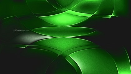 Abstract Shiny Cool Green Metal Background