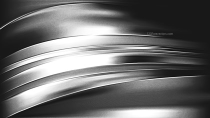 Cool Grey Metal Background