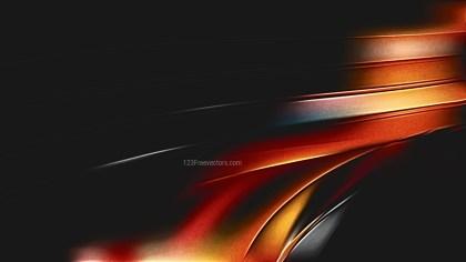 Shiny Cool Orange Metallic Background