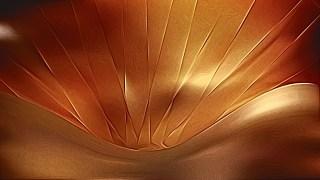 Dark Orange Shiny Metallic Background