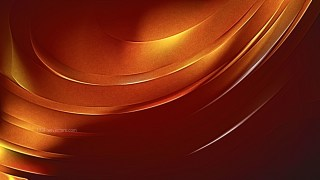 Dark Orange Shiny Metallic Background