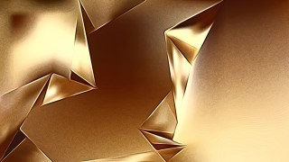 Gold Shiny Metal Background
