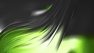 Abstract Shiny Green and Black Metallic Background