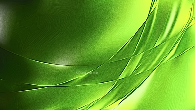 Abstract Shiny Green and Black Metallic Texture
