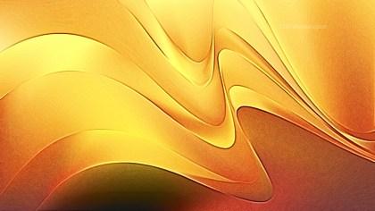 Shiny Orange Metal Background