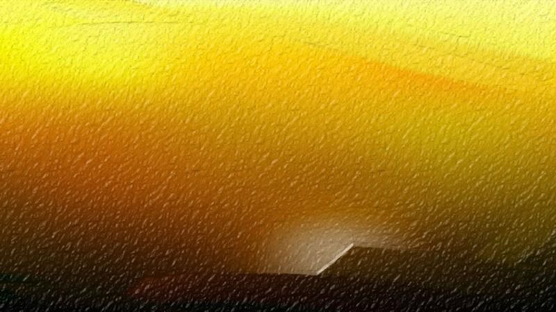 Orange and Black Shiny Metallic Background