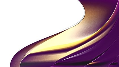 Purple and Gold Metal Background